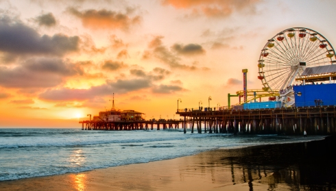 santa-monica-pier-at-sunset