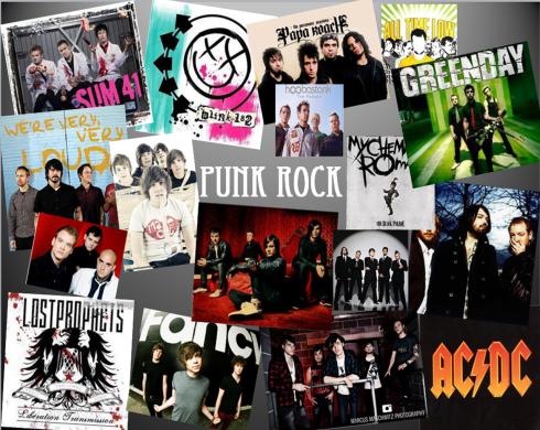 Punk Rock mood board